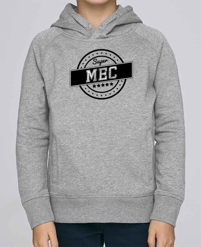 Sweat à Capuche Enfant Stanley Mini Base Super mec par justsayin