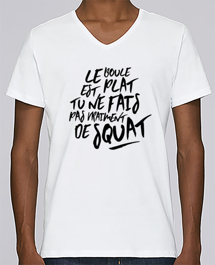 T-shirt Col V Homme Stanley Relaxes Le boule