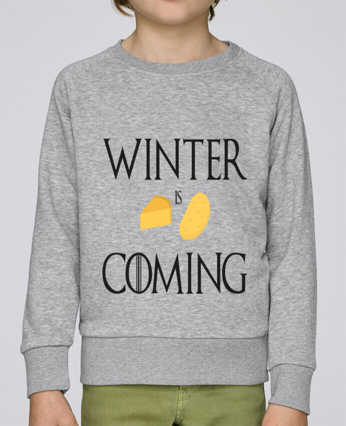 Sweat Col Rond Enfant Stanley Mini Scouts Winter is coming par Ruuud
