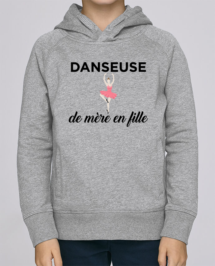 Sweat à Capuche Enfant Stanley Mini Base Danseuse de mère en fille par tunetoo