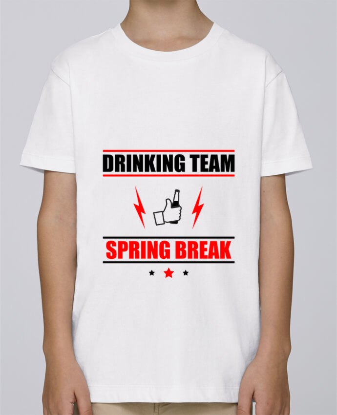 Tee Shirt Garçon Stanley Mini Paint Drinking Team Spring Break par Benichan