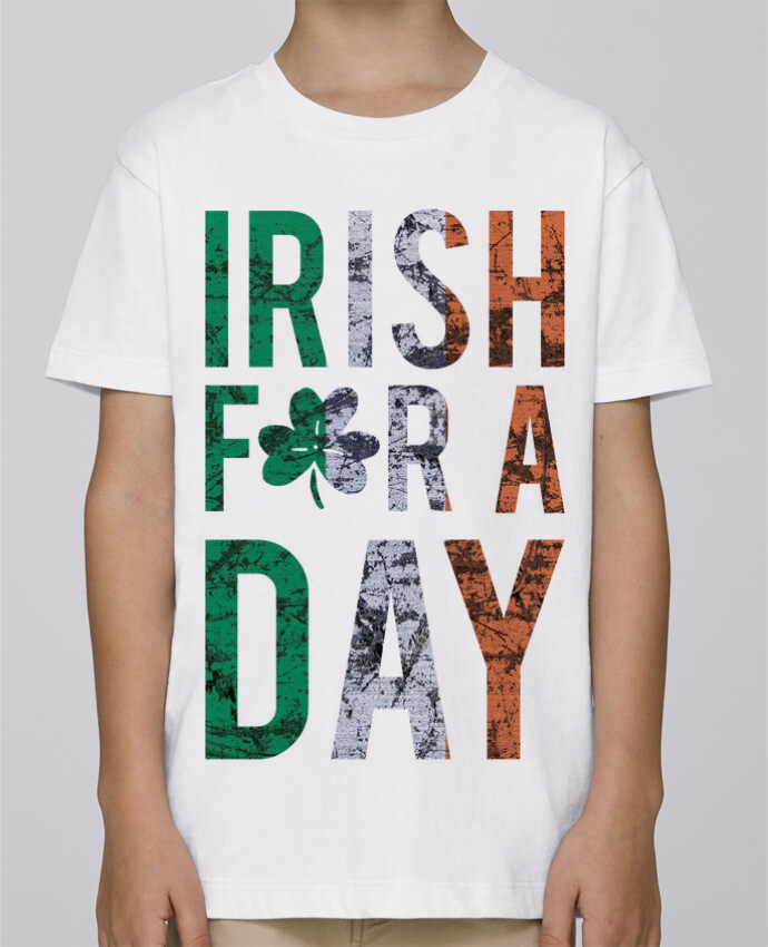 Tee Shirt Garçon Stanley Mini Paint Irish for a day par tunetoo