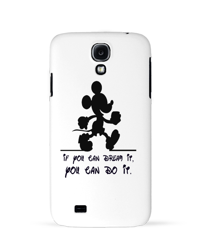 Coque Samsung Galaxy S4 MICKEY DREAM par stephfen
