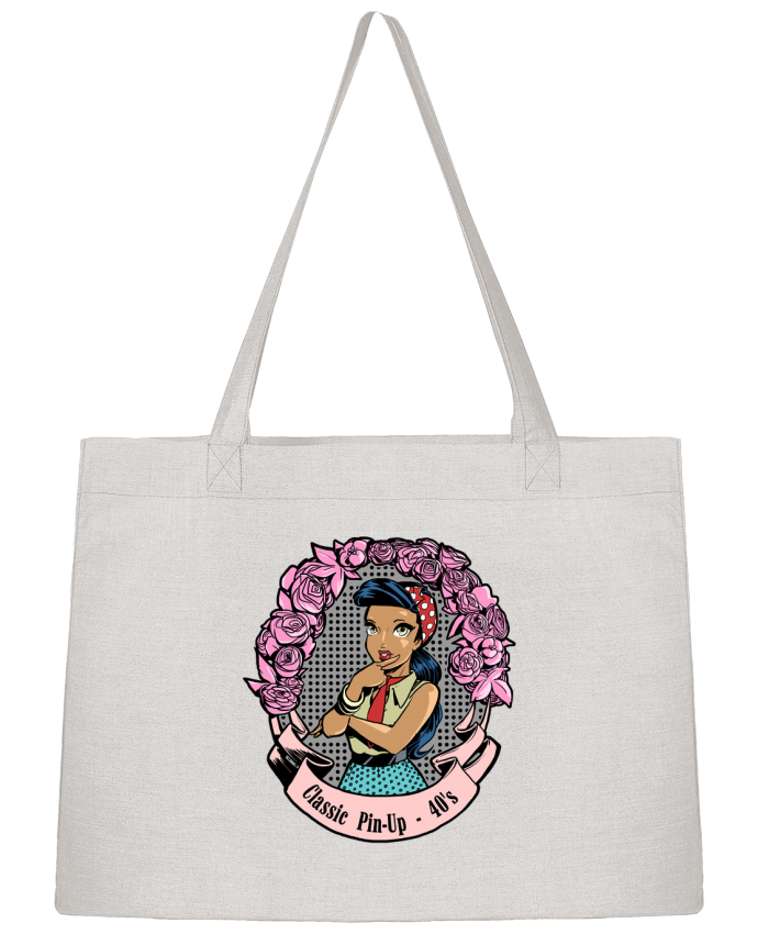 Sac Cabas Shopping Stanley Stella Pin-Up Classic par Tomi Ax - tomiax.fr