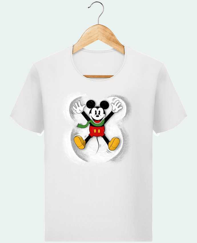 T-shirt Homme Stanley Imagines Vintage Mickey in snow par Florent Bodart