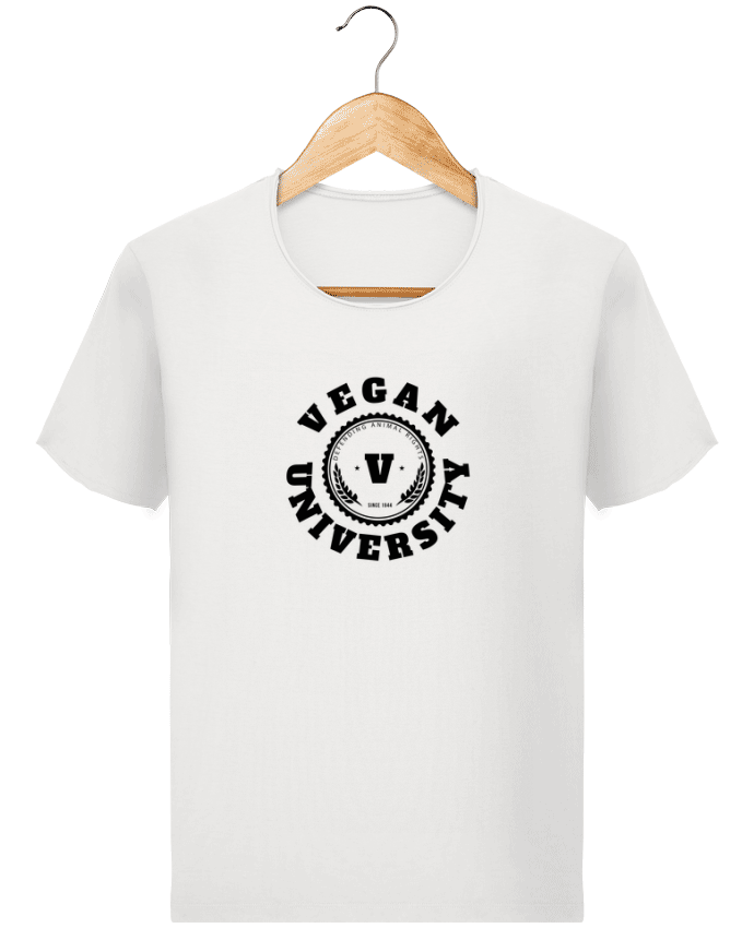T-shirt Homme Stanley Imagines Vintage Vegan University par Les Caprices de Filles
