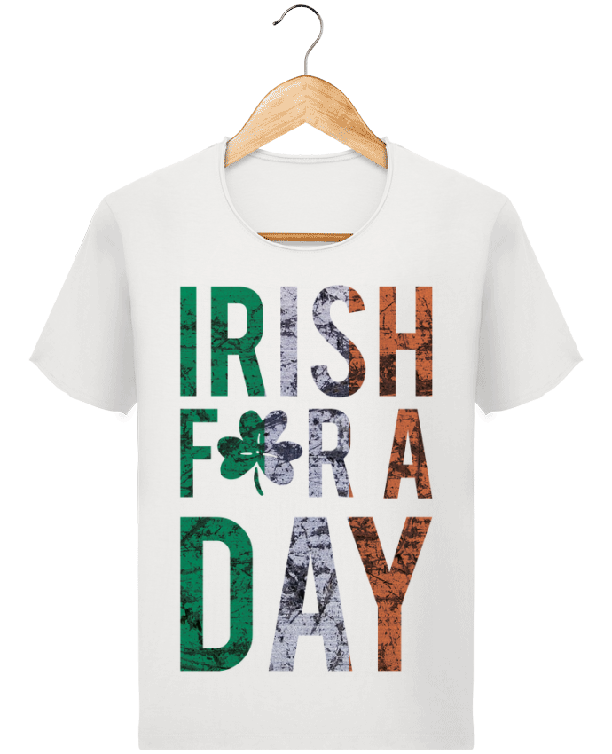 T-shirt Homme Stanley Imagines Vintage Irish for a day par tunetoo