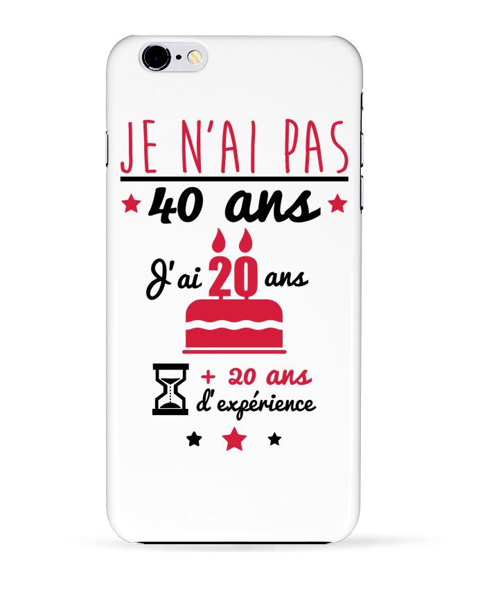 Coque 3D Iphone 6+ Je n