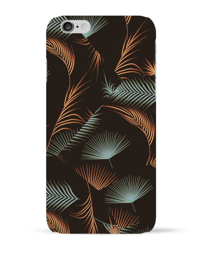 Coque 3D Iphone 6 Golden Palms par L