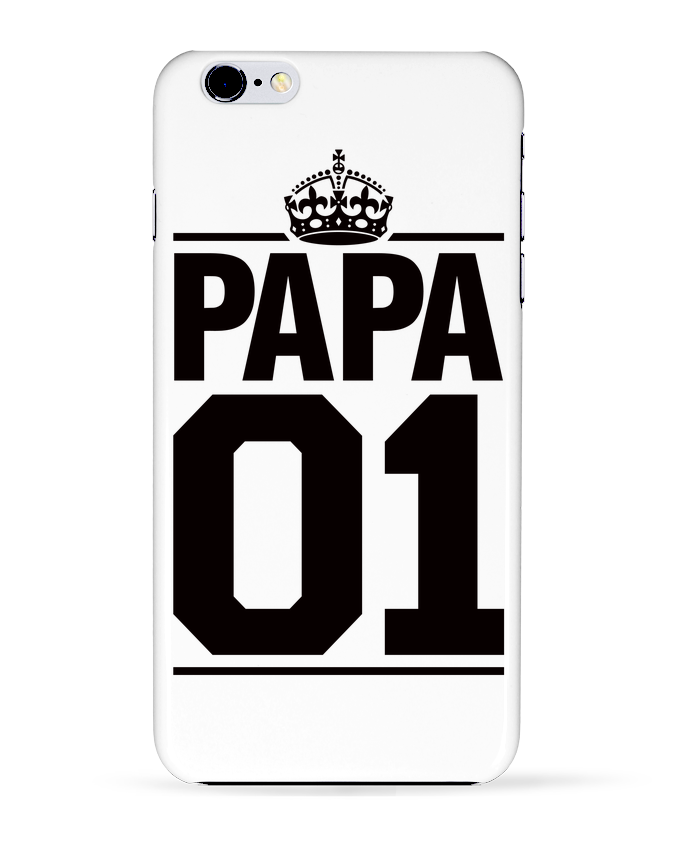 4598355 coque 3d iphone 6 plus blanc papa 01 by freeyourshirt com