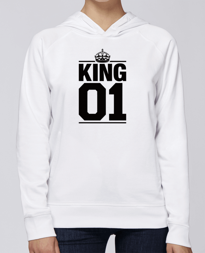 Sweat Capuche Femme Stanley Base King 01 par Freeyourshirt.com
