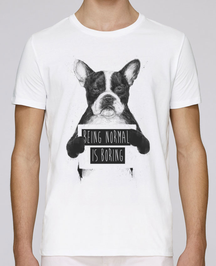 T-Shirt Col Rond Stanley Leads Being normal is boring par Balàzs Solti