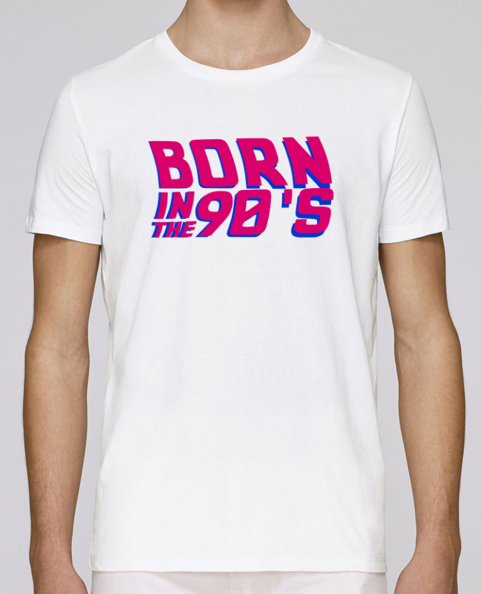 T-Shirt Col Rond Stanley Leads Born in the 90