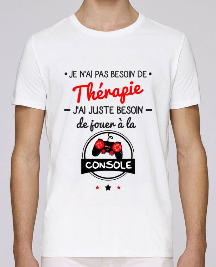 T-Shirt Col Rond Stanley Leads Tee shirt marrant pour geek,gamer : Je n