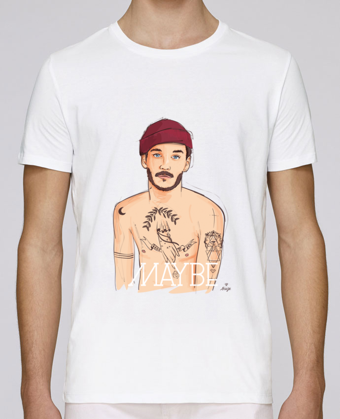 T-Shirt Col Rond Stanley Leads Maybe par 13octobre