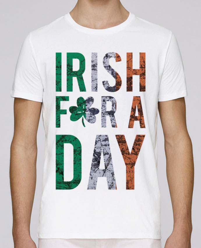 T-Shirt Col Rond Stanley Leads Irish for a day par tunetoo