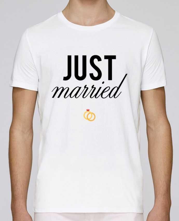 T-Shirt Col Rond Stanley Leads Just married par tunetoo