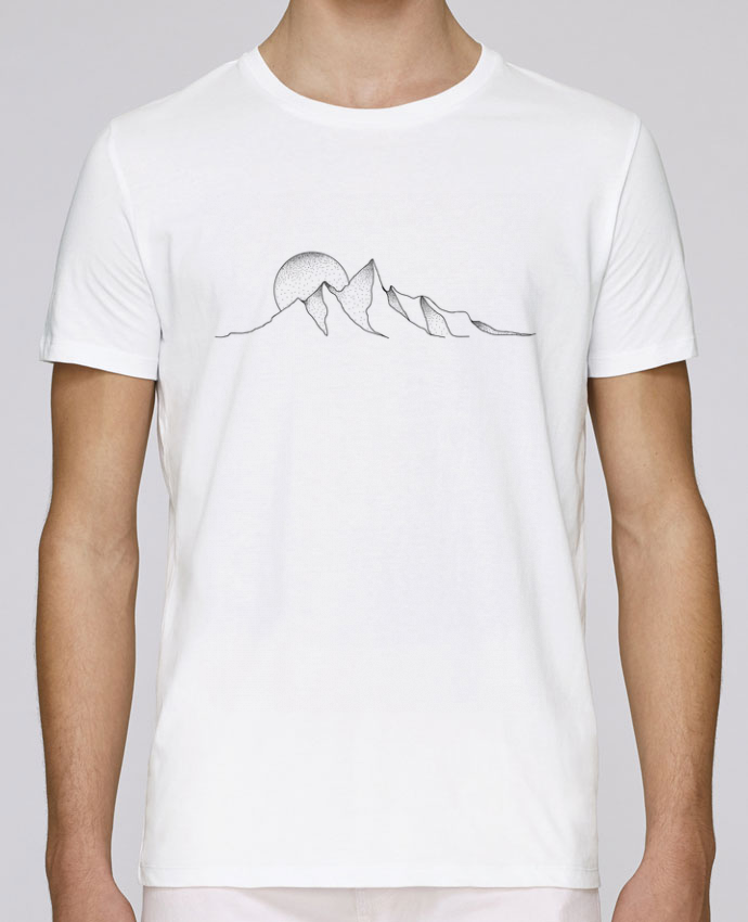 T-Shirt Col Rond Stanley Leads mountain draw par /wait-design