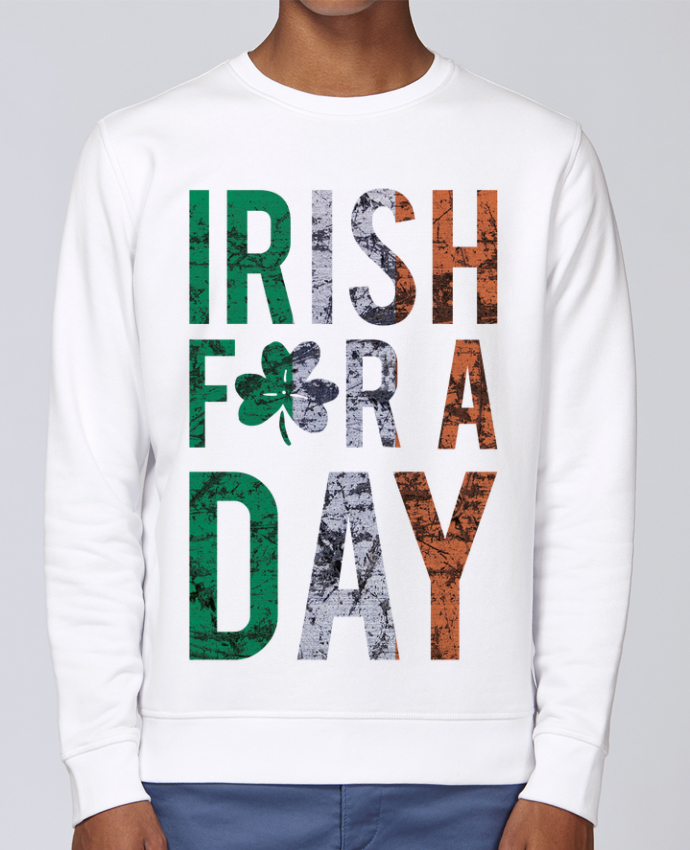 Sweat Col rond Unisex Stanley Stella Rise Irish for a day par tunetoo