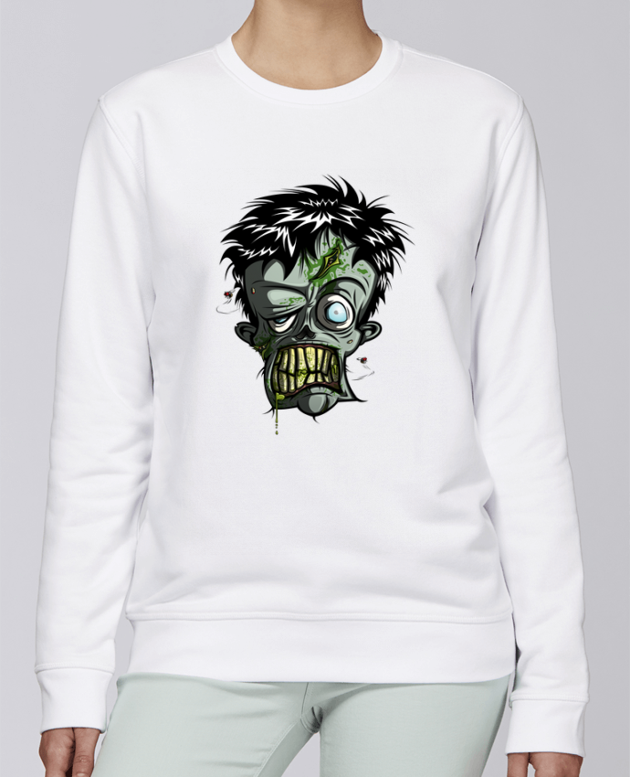 Sweat Col rond Unisexe Stanley Stella Rise Toxic Zombie par SirCostas