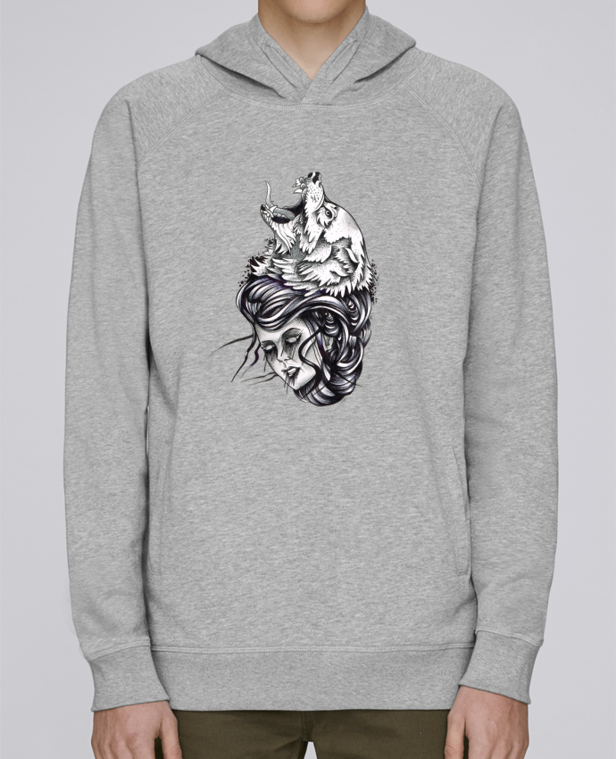 Sweat Capuche Homme Stanley Base Femme & Loup par david