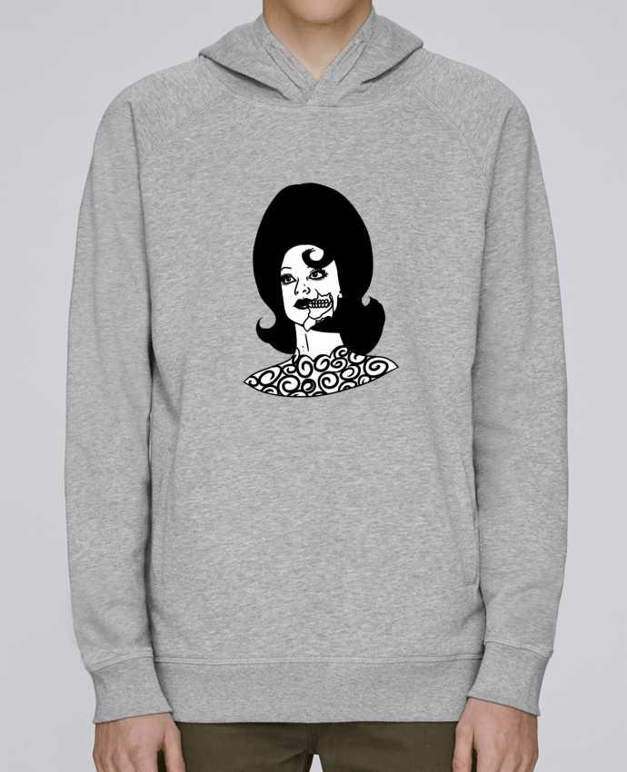 Sweat Capuche Homme Stanley Base Miss Alien par tattooanshort