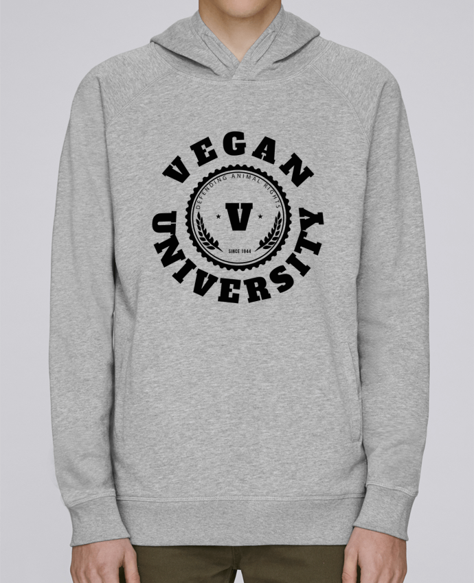 Sweat Capuche Homme Stanley Base Vegan University par Les Caprices de Filles