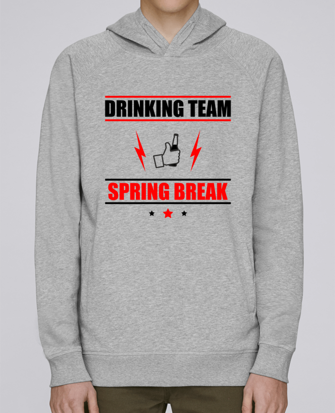 Sweat Capuche Homme Stanley Base Drinking Team Spring Break par Benichan