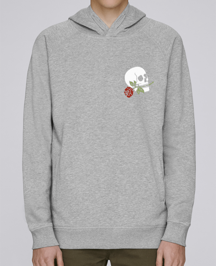 Sweat Capuche Homme Stanley Base Skull flower par Ruuud