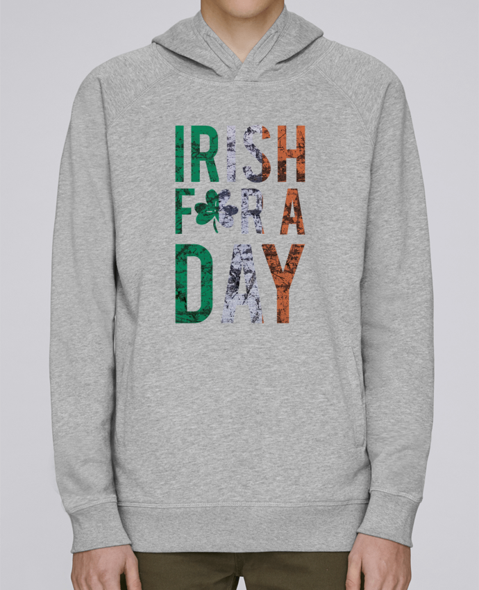 Sweat Capuche Homme Stanley Base Irish for a day par tunetoo