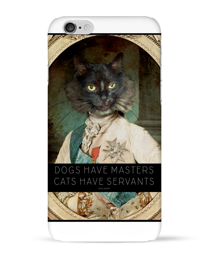 Coque 3D Iphone 6 King Cat par Tchernobayle