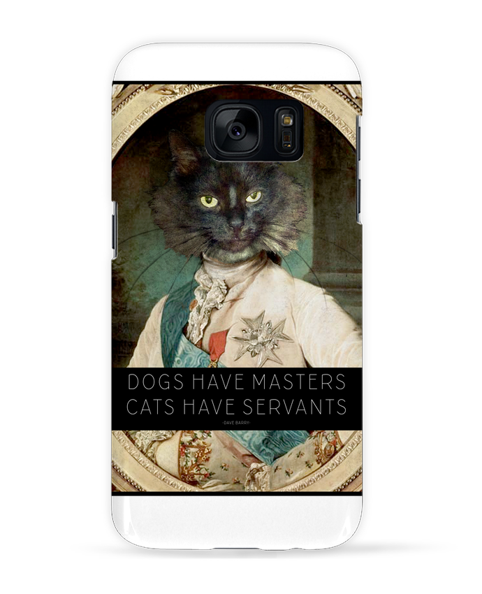 Coque 3D Samsung Galaxy S7 King Cat par Tchernobayle