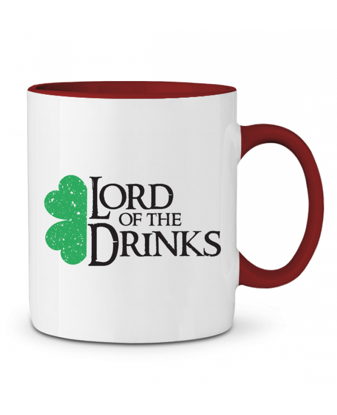 Mug en Céramique Bicolore Lord of the Drinks tunetoo