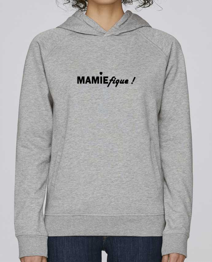 Sweat Capuche Femme Stanley Base Mamiefique par Tee Smiles