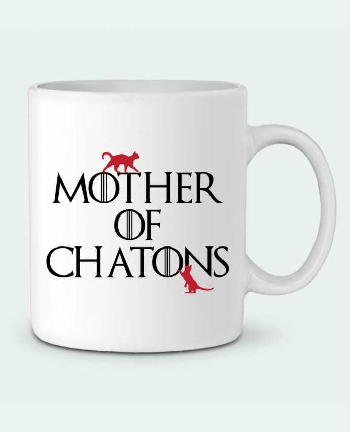 Mug en Céramique Mother of chatons par tunetoo