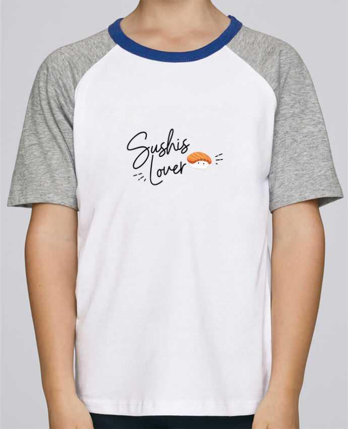Tee-Shirt Enfant Stanley Mini Jump Short Sleeve Sushis Lover par Nana