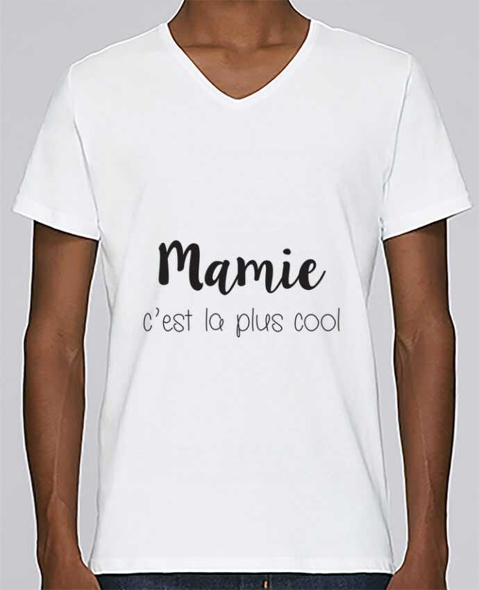 T-shirt Col V Homme Stanley Relaxes Mamie c