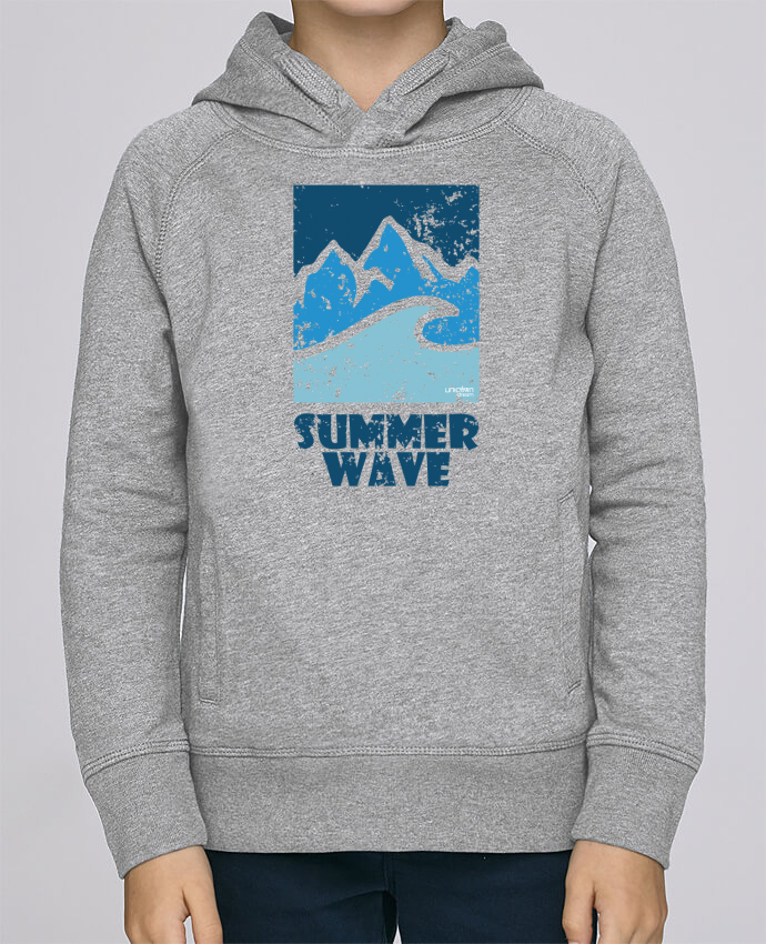 Sweat à Capuche Enfant Stanley Mini Base SummerWAVE-02 par Marie