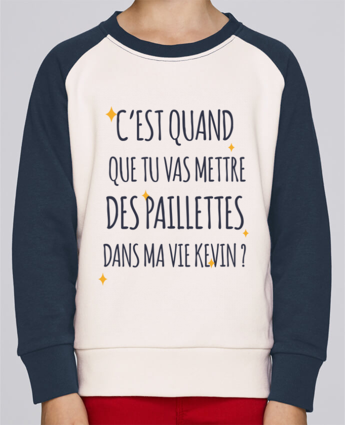 Sweat Shirt Col Rond Enfant Stanley Mini Contrast C