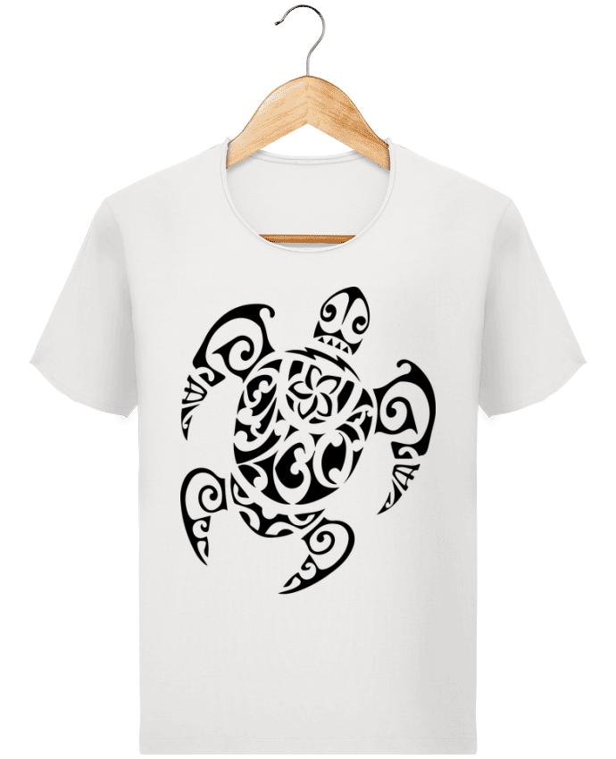 T Shirt Homme Stanley Imagines Vintage Art De Tatouage Maori Polynesien De Tortues Marine Designer Jorrie
