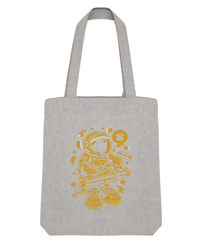 Tote Bag Stanley Stella Dj Astronaute Golden Cartoon | By Kap Atelier Cartoon par Kap Atelier