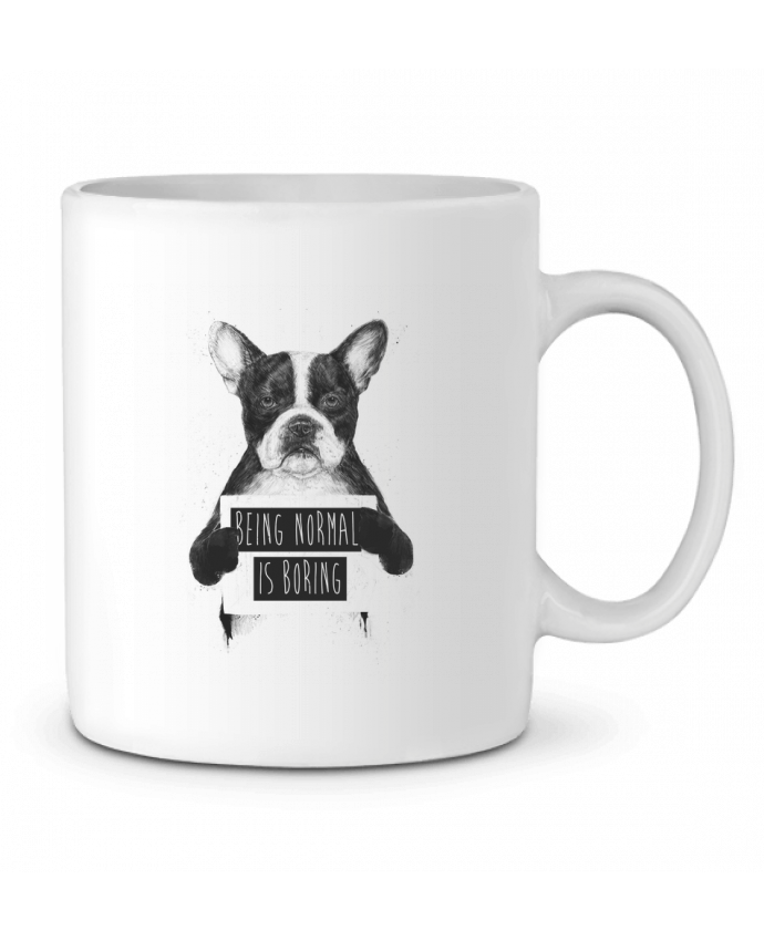 Mug  Being normal is boring par Balàzs Solti