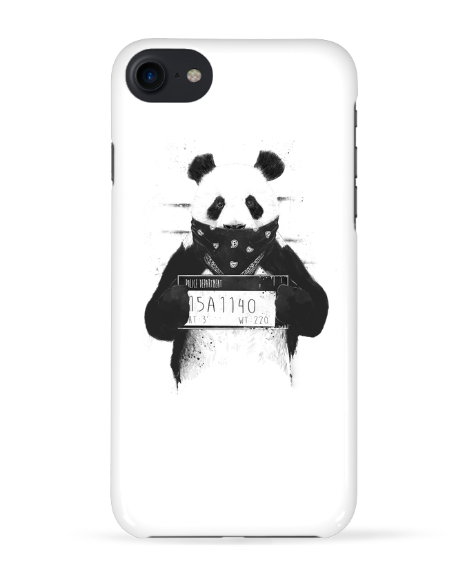 Coque 3D Iphone 7 Bad panda de Balàzs Solti