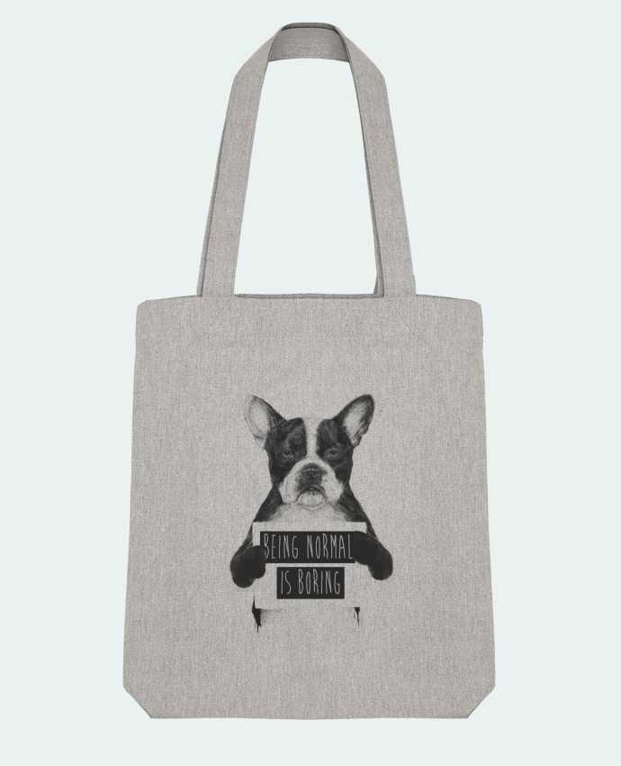 Tote Bag Stanley Stella Being normal is boring par Balàzs Solti
