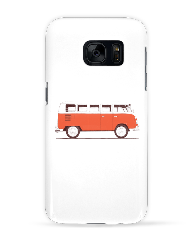 Coque 3D Samsung Galaxy S7 Red Van par Florent Bodart