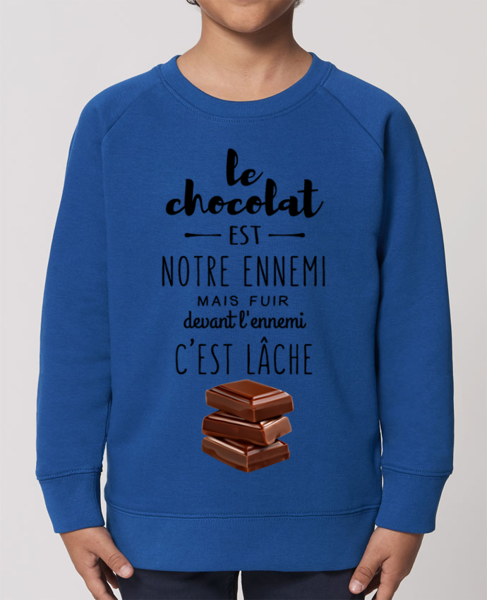 Sweat-shirt enfant chocolat Par  DesignMe