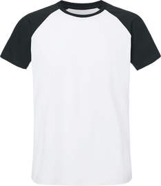 T-shirt Unisexe Baseball Short Sleeve