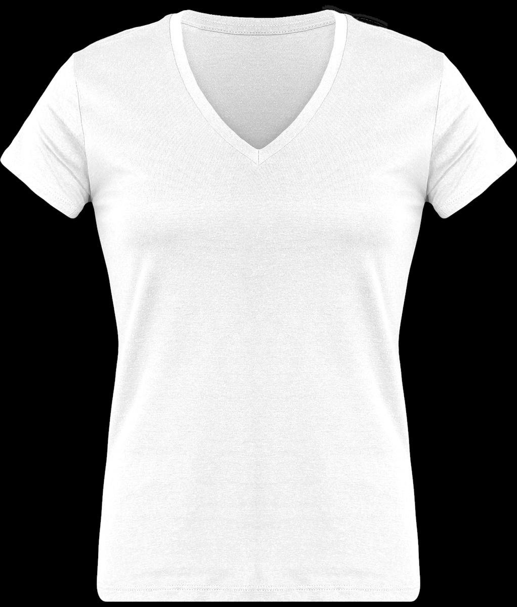 57af9879d123 Tee Shirt Femme 150 gr Col V