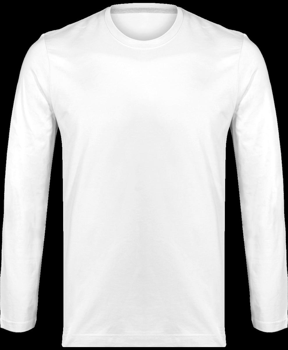 69688194d2356 T-shirt Manches Longues Homme