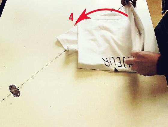 Comment personnaliser mon t shirt avec tunetoo - Comment plier un t shirt ...
